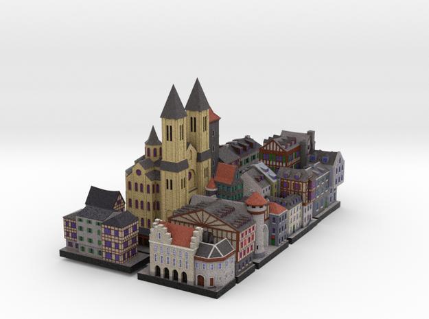 Medieval Village set ( 8x4 )