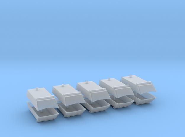 Dachaufsatz Hochdach 1 Balken, 1RUK für Roco VW T4 in Smooth Fine Detail Plastic