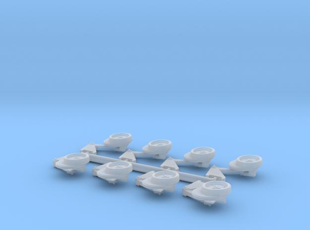 1/64 7200 Series Fertilizer Openers, Large Bracke in Smooth Fine Detail Plastic