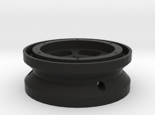 1/10 Scale Slotted 1.9 Beadlock Wheel in Black Strong & Flexible