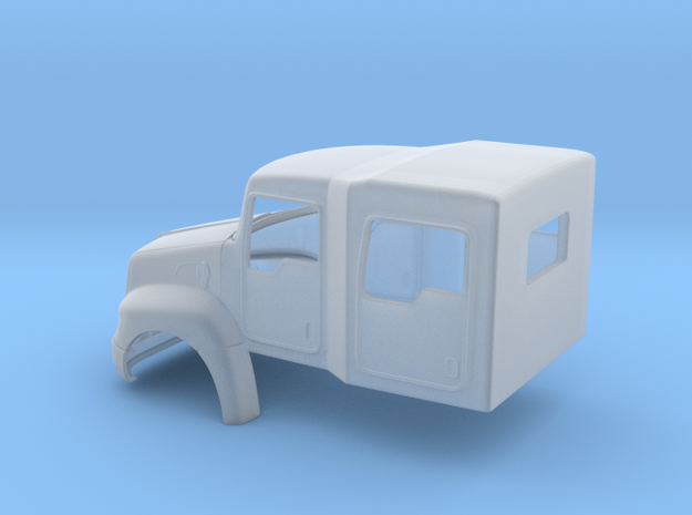 Kenworth T370 4 Door Crew Cab light duty truck in Smooth Fine Detail Plastic