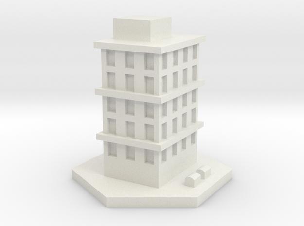 Bloque pisos 1 in White Natural Versatile Plastic