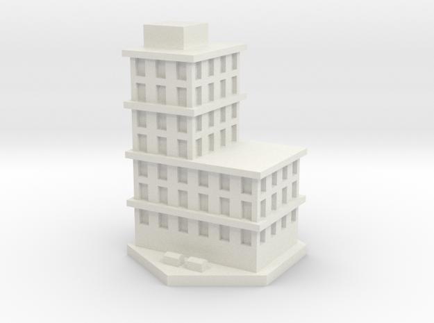 Bloque pisos 2  in White Natural Versatile Plastic
