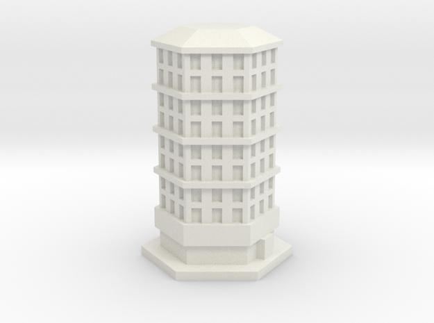 Bloque pisos 5 in White Natural Versatile Plastic