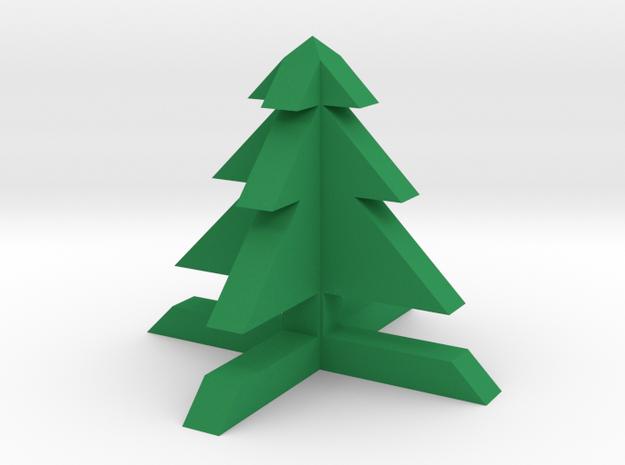 1x1 Tree in Green Processed Versatile Plastic