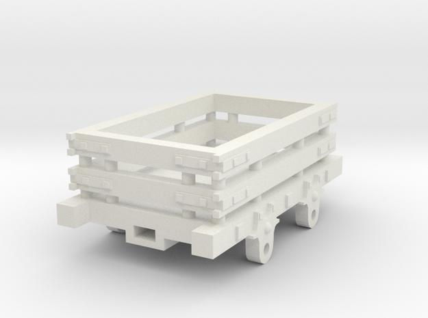 O-16.5 Slate Wagon in White Strong & Flexible