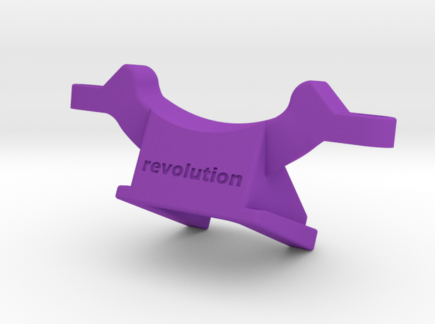 SWAT Topeak Mount in Purple Processed Versatile Plastic