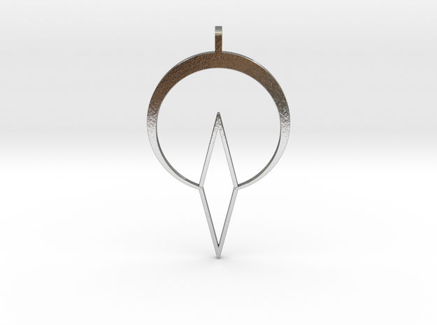 High Dome of Silence in Polished Silver
