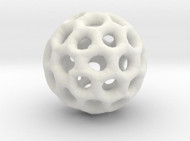 50-Points Pendant I in White Natural Versatile Plastic