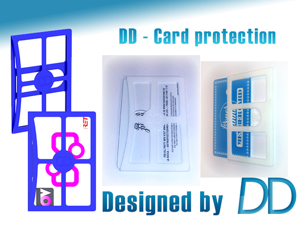 DD - Card Protection 3d printed