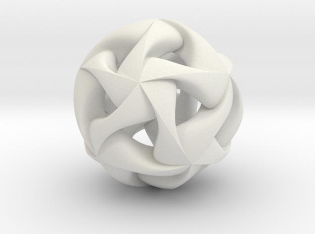Nexus Pendant I in White Natural Versatile Plastic