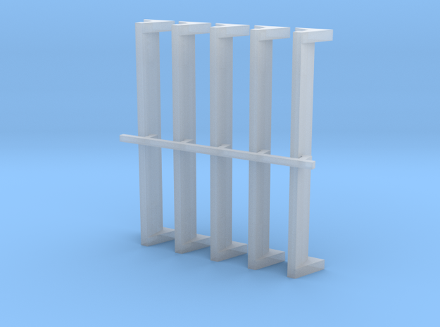 04 218 Knapen 2 5Stk. in Smoothest Fine Detail Plastic