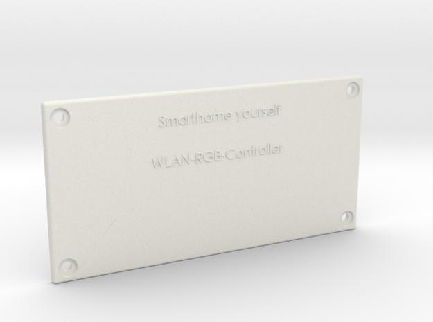 WLAN RGB Controller Deckel in White Natural Versatile Plastic