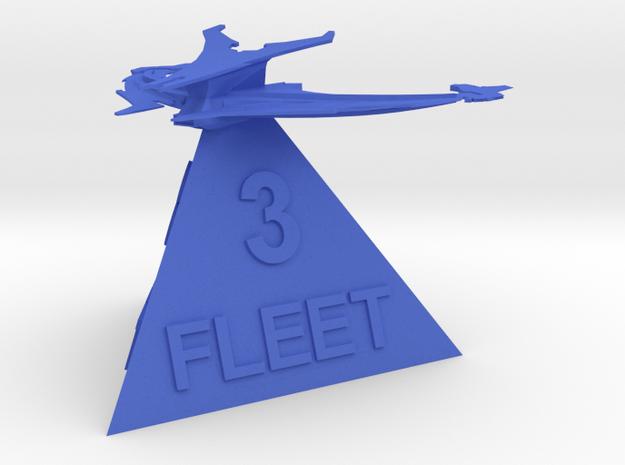 Son'a - Fleet 3 in Blue Processed Versatile Plastic
