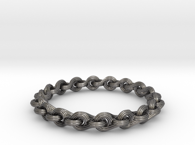 Ocean Breeze Bracelet in Polished Nickel Steel