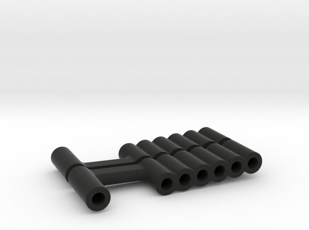 Super SuDu Shock Spacer  in Black Natural Versatile Plastic