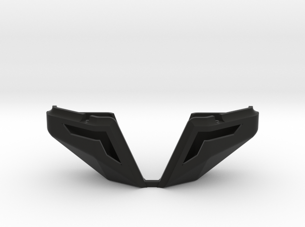 Honcho Bed Corners in Black Natural Versatile Plastic