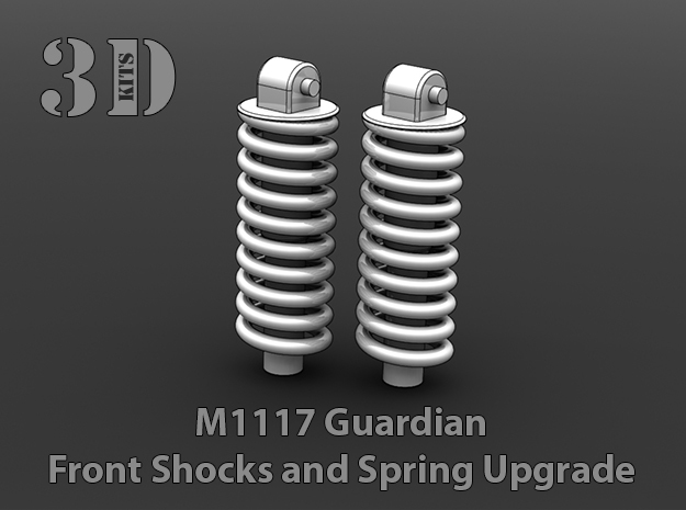 M1117 Guardian Shock and Spring Upgrade in Smoothest Fine Detail Plastic