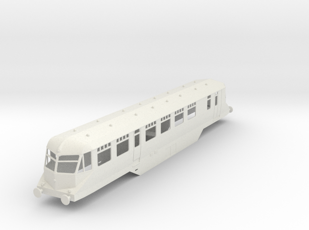 0-43-gwr-railcar-19-33-1a in White Natural Versatile Plastic
