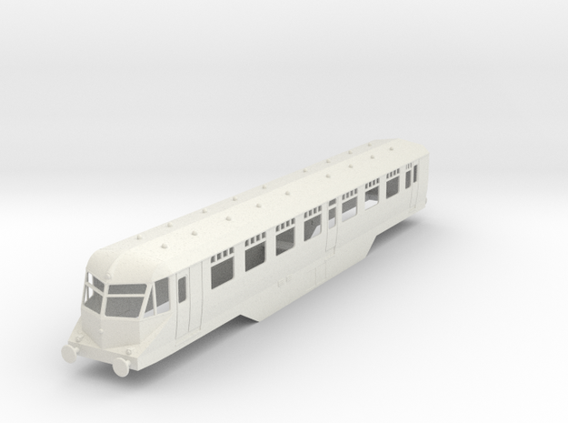 0-43-gwr-railcar-buffet-36-38-1a in White Natural Versatile Plastic