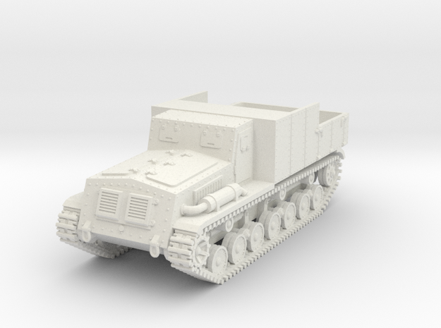 1/87 (HO) Type 4 Chi-So armored tractor in White Natural Versatile Plastic