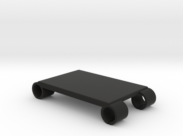 Steadicam M-1 Monitor Rails Accessory Plate - 65mm in Black Natural Versatile Plastic