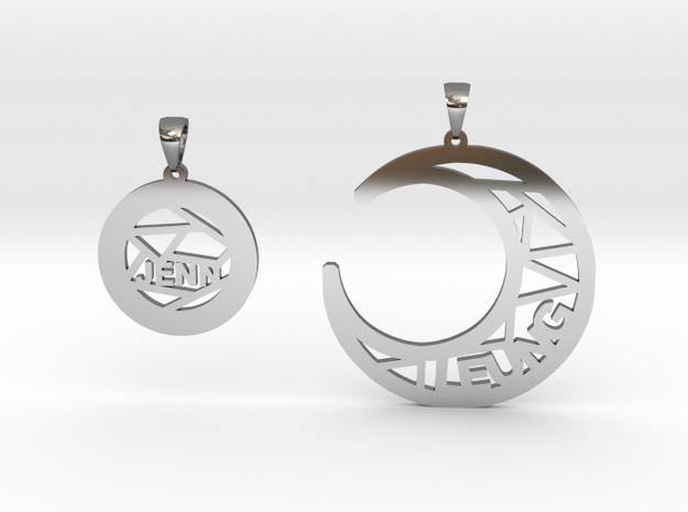 Jenn&Leung in Fine Detail Polished Silver