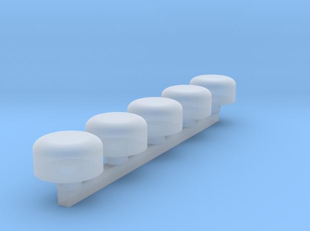Nascar Roof Cameras in Smoothest Fine Detail Plastic: 1:24