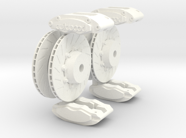 Calipers 1/8 and Rotors V4