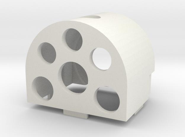Gauge 3 Neilson Firebox in White Natural Versatile Plastic