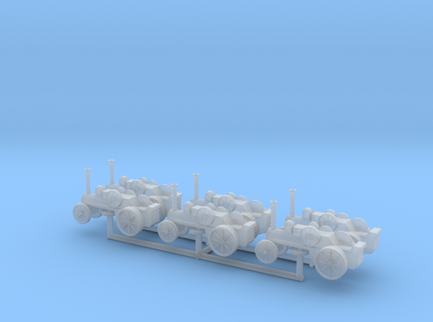(1:450) Traction Engines in Smooth Fine Detail Plastic