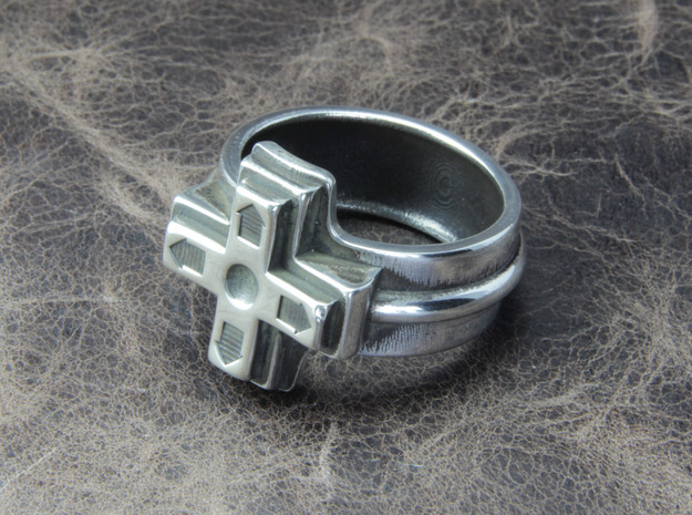 Ring of the gamer in Polished Silver: 5 / 49