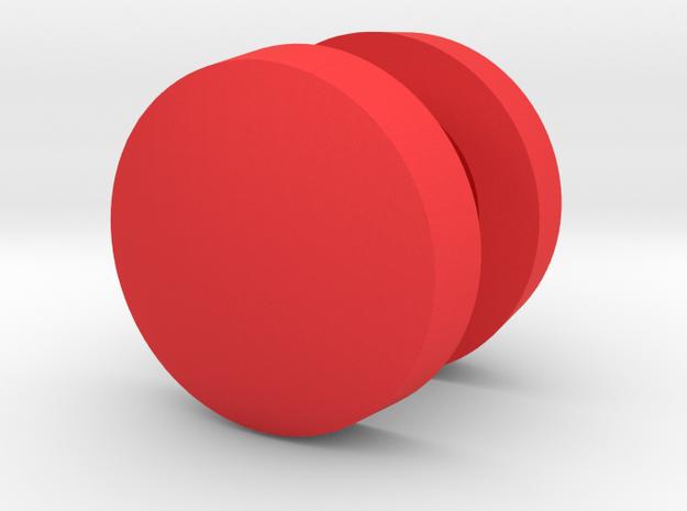 John Deere 20 Compressor and Carry Tank Caps in Red Processed Versatile Plastic