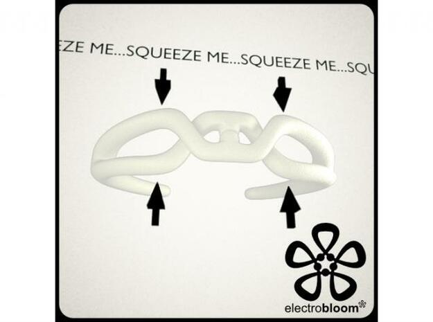 Squeeze cuff. 3d printed