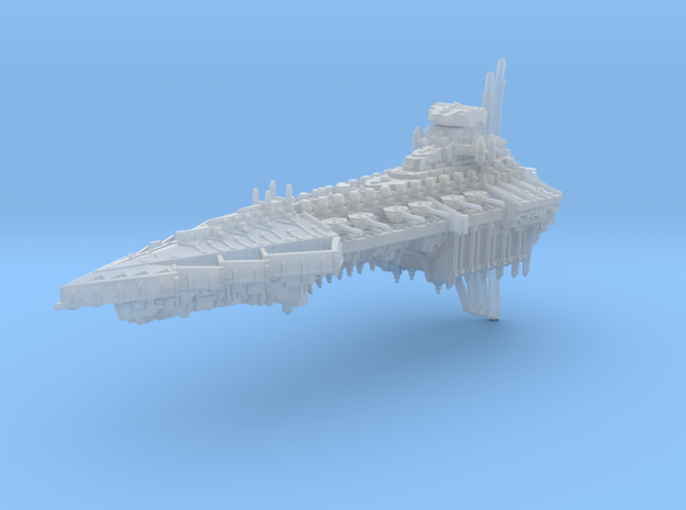 Desolation Battleship in Smooth Fine Detail Plastic