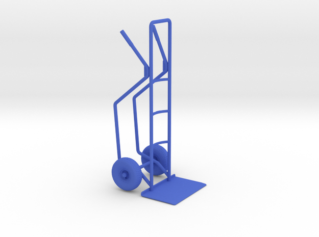 1/20 Formula Racing Tire Dolly in Blue Processed Versatile Plastic