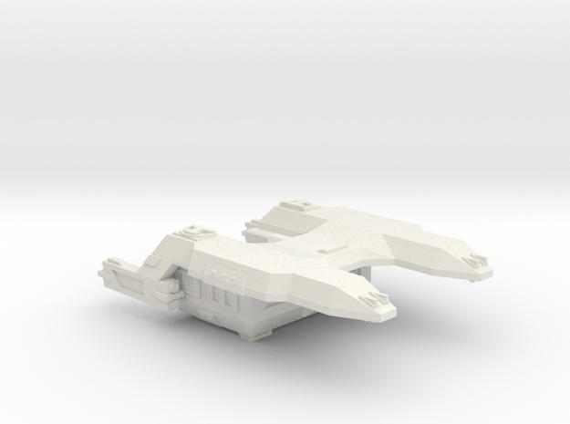 3788 Scale Lyran Cougar Carrier Tug CVN in White Natural Versatile Plastic