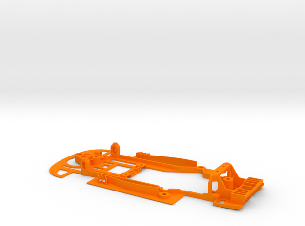 SC-9101b  Chasis S7R Lightweight RT3 in Orange Strong & Flexible Polished