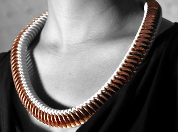 E 5.55 coin necklace 3d printed