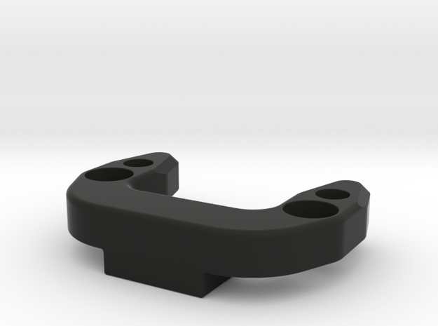 Anti-roll Bar Mounting Brace (B6, B6D) in Black Natural Versatile Plastic