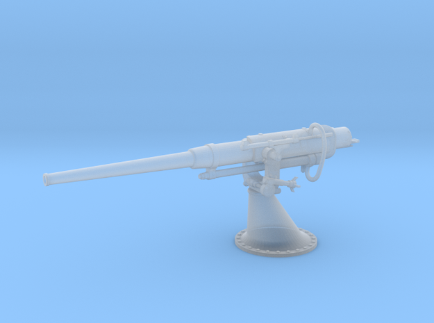 1/100 Russian 75 mm / 50 Cal. Gun in Smooth Fine Detail Plastic