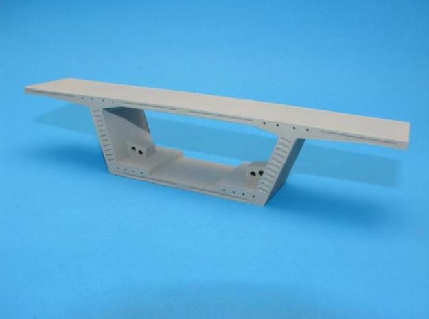 HO/1:87 Precast concrete bridge segment kit (wide 3d printed Painted & assembled