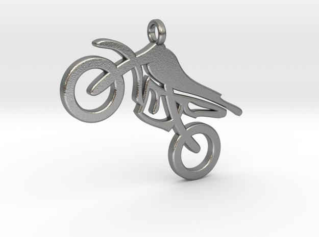 motorbike in Natural Silver