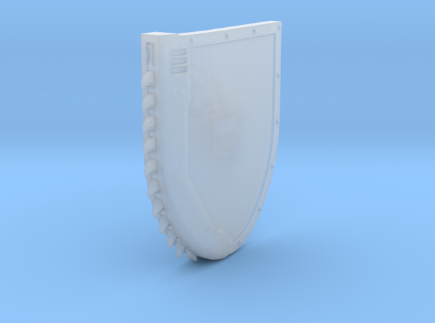 Left-handed Chainshield in Frosted Ultra Detail: Small