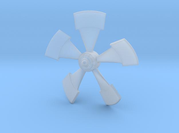 Disney Nautilus propeller  in Smoothest Fine Detail Plastic