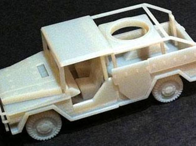 Mercedes Truck- Navy Version (1 56th, mm) 3d printed