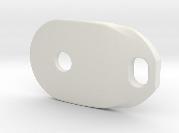 Pocket nus D01 in White Natural Versatile Plastic