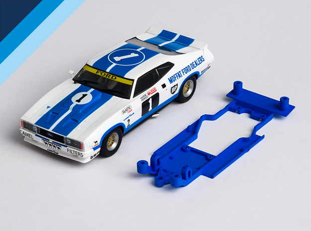 1/32 Scalextric Ford Falcon XB/XC Chassis AW pod