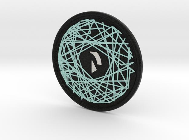 Raiden Coaster in Full Color Sandstone