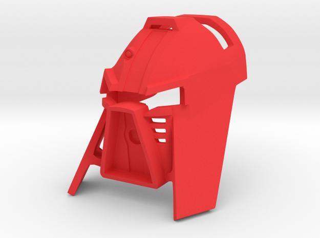 [G2] Kanohi Tarua in Red Processed Versatile Plastic